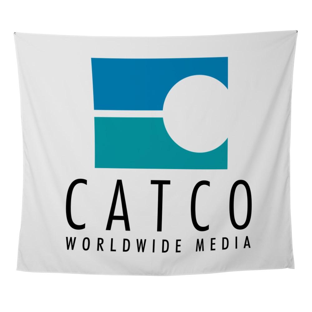 Catco Worldwide Media Logo Wall Tapestry