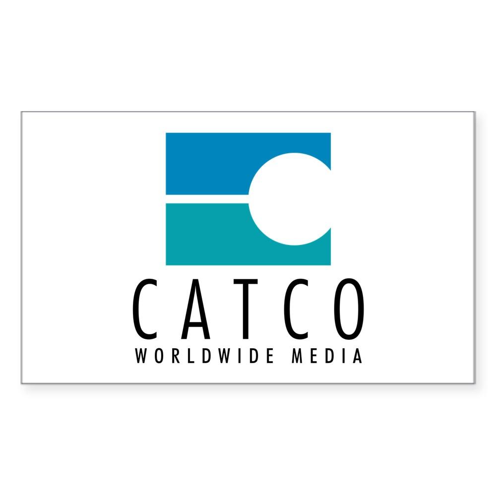 Catco Worldwide Media Logo Rectangle Sticker