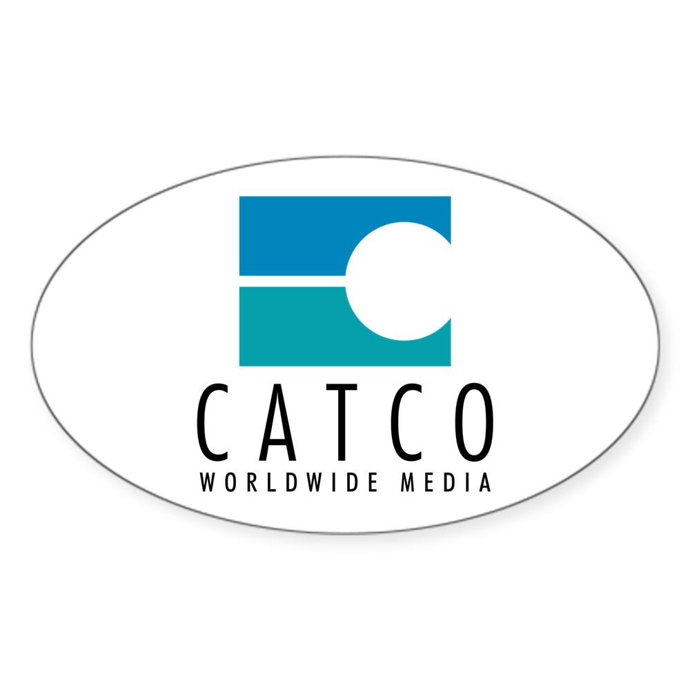 Catco Worldwide Media Logo Oval Sticker