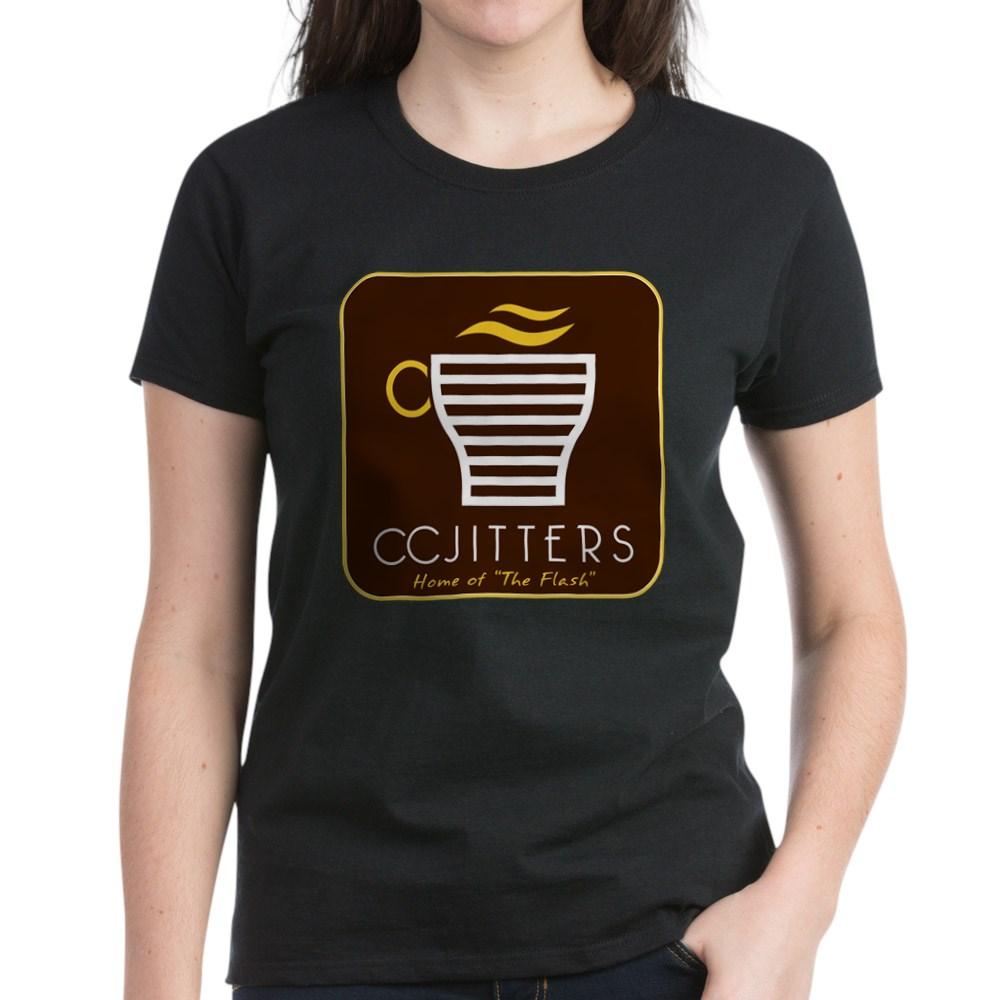 CC Jitters Flash Logo Women's Dark T-Shirt
