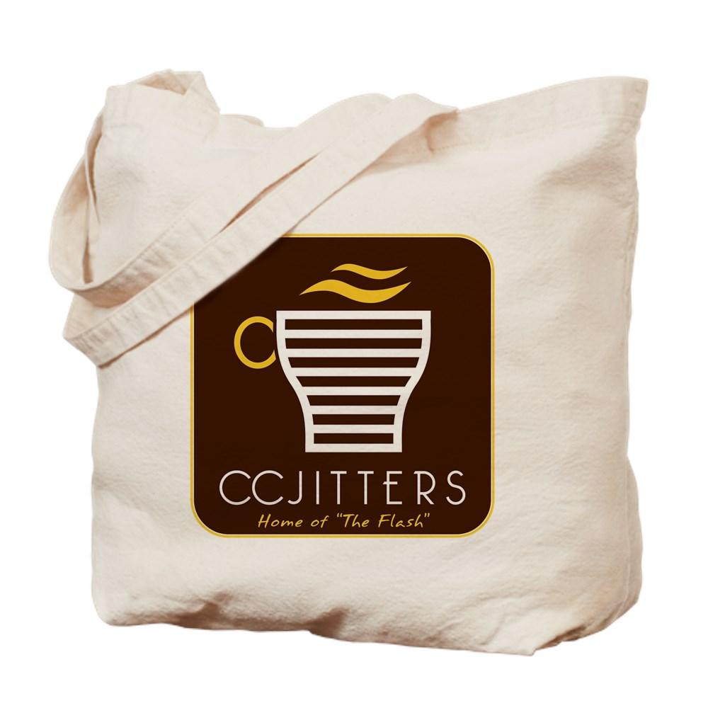 CC Jitters Flash Logo Tote Bag