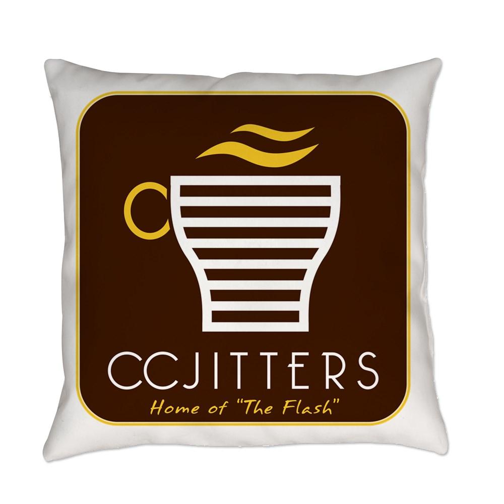 CC Jitters Flash Logo Everyday Pillow