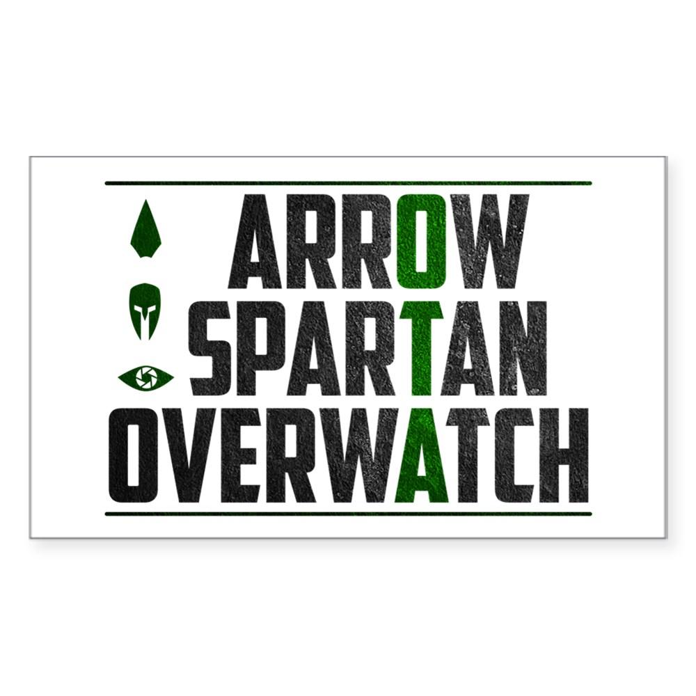 OTA - Original Team Arrow Rectangle Sticker