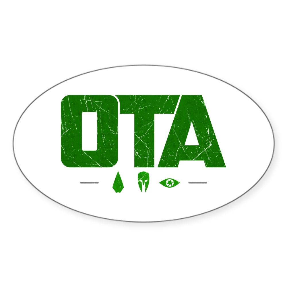 OTA - Original Team Arrow Oval Sticker