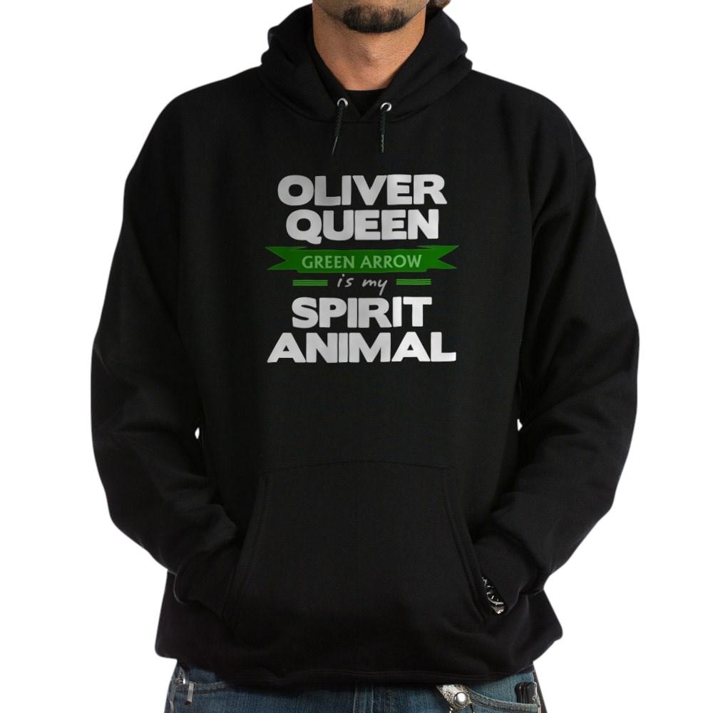 Oliver Queen is my Spirit Animal Dark Hoodie