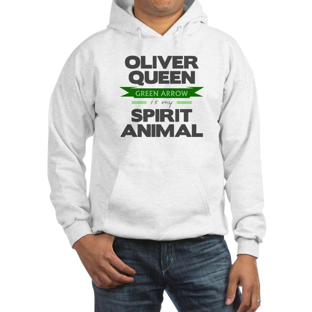 Oliver Queen is my Spirit Animal Hooded Sweatshirt