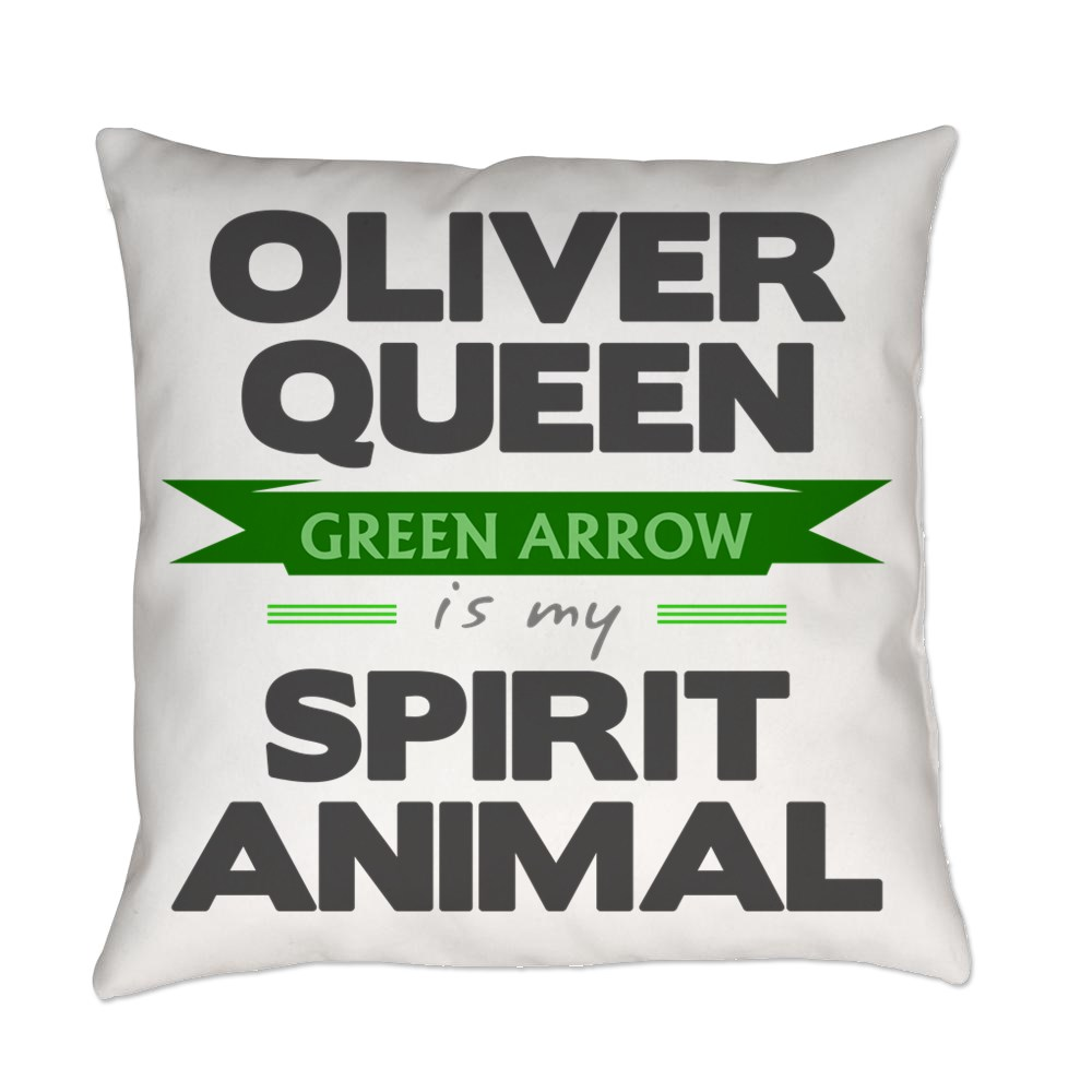 Oliver Queen is my Spirit Animal Everyday Pillow