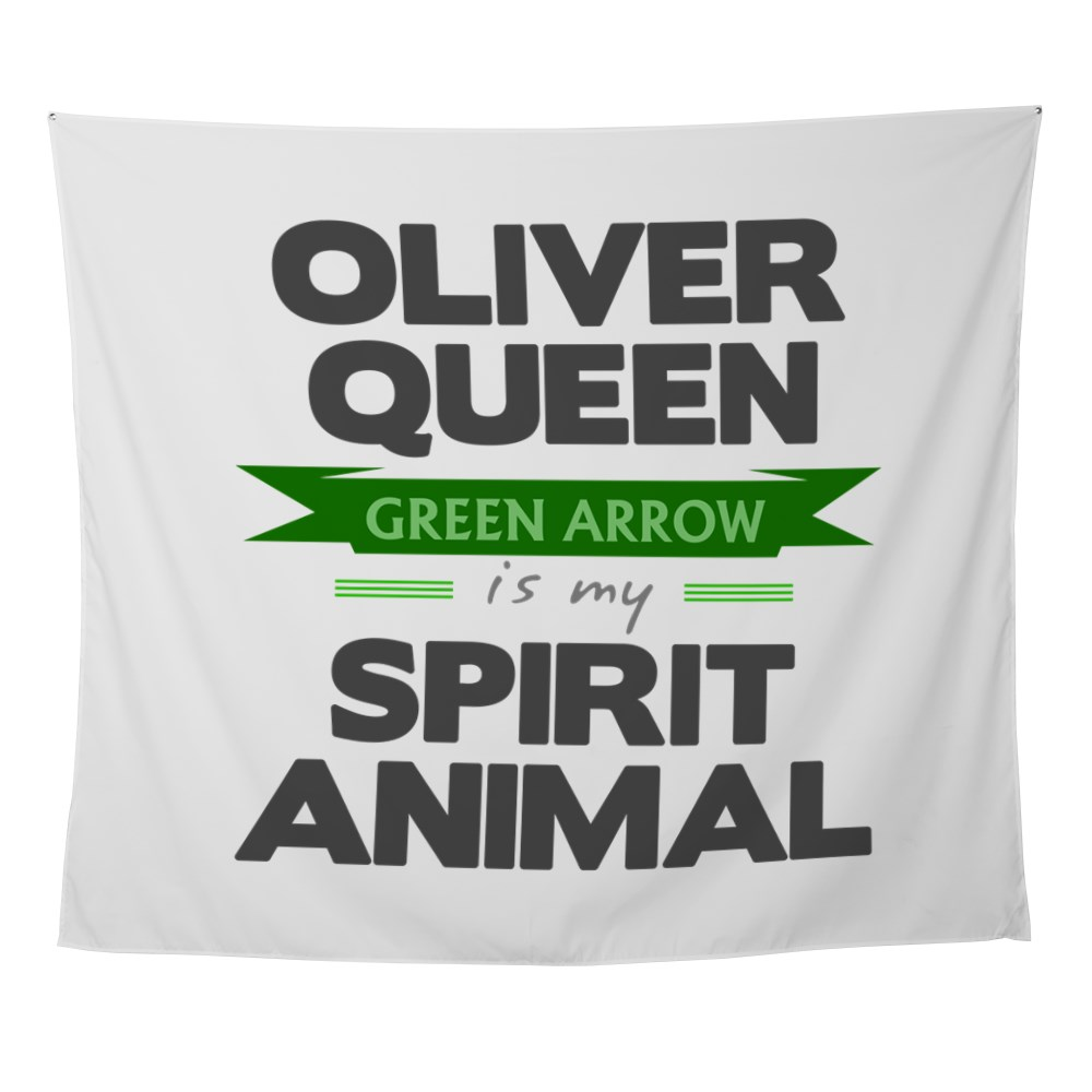 Oliver Queen is my Spirit Animal Wall Tapestry