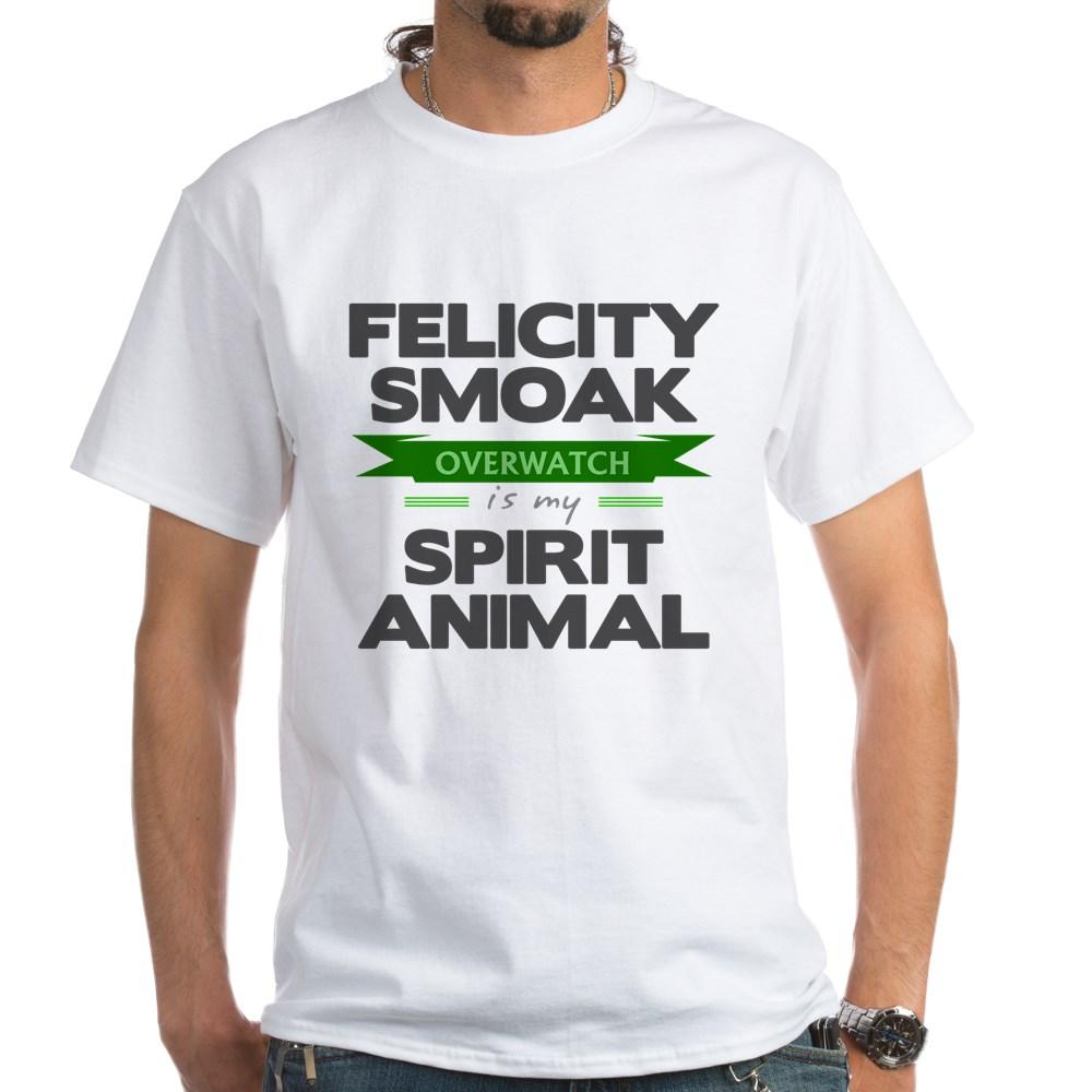 Felicity Smoak is my Spirit Animal White T-Shirt