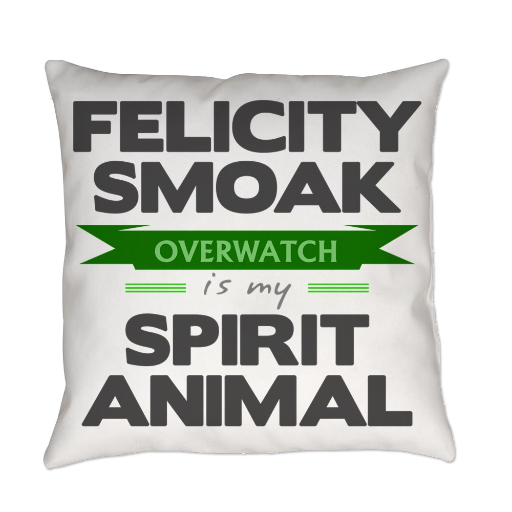 Felicity Smoak is my Spirit Animal Everyday Pillow