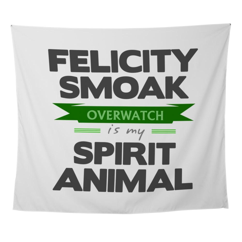 Felicity Smoak is my Spirit Animal Wall Tapestry