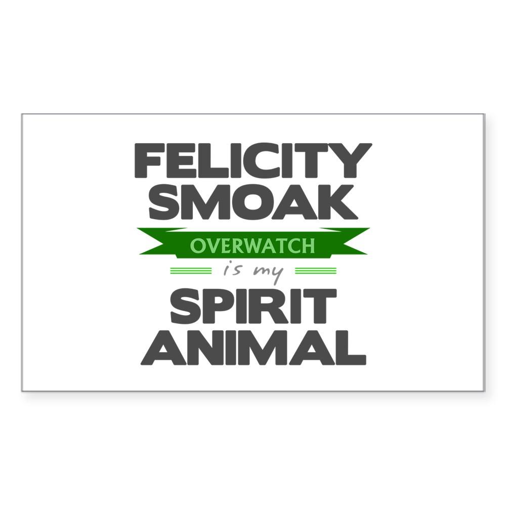 Felicity Smoak is my Spirit Animal Rectangle Sticker