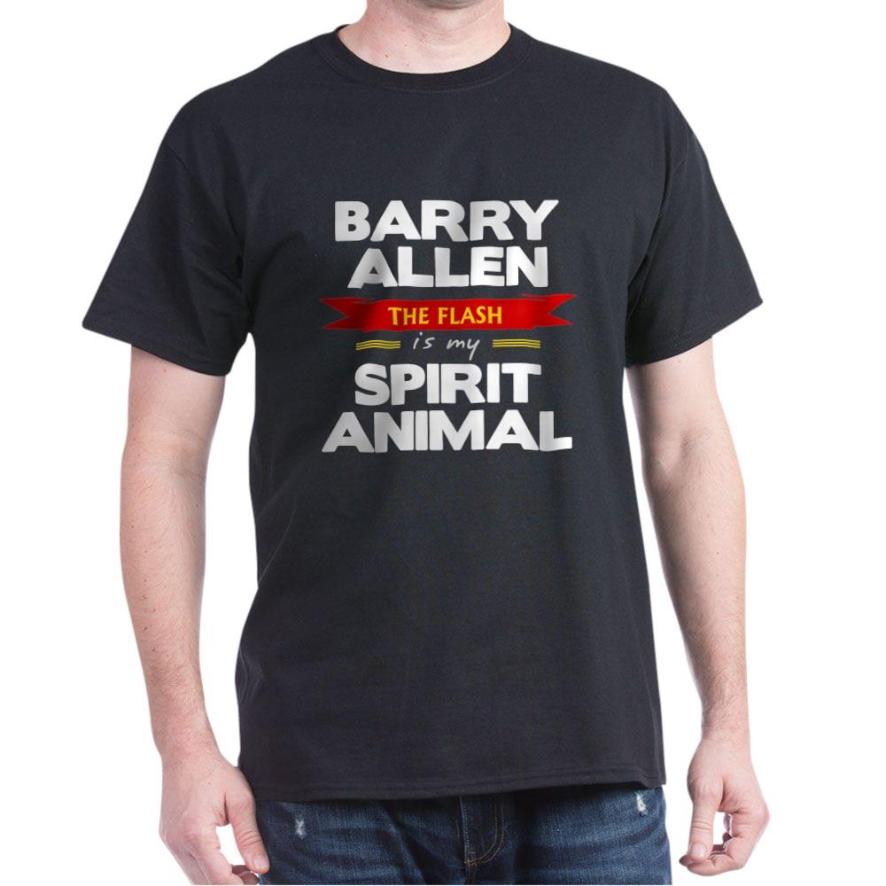 Barry Allen is my Spirit Animal Dark T-Shirt