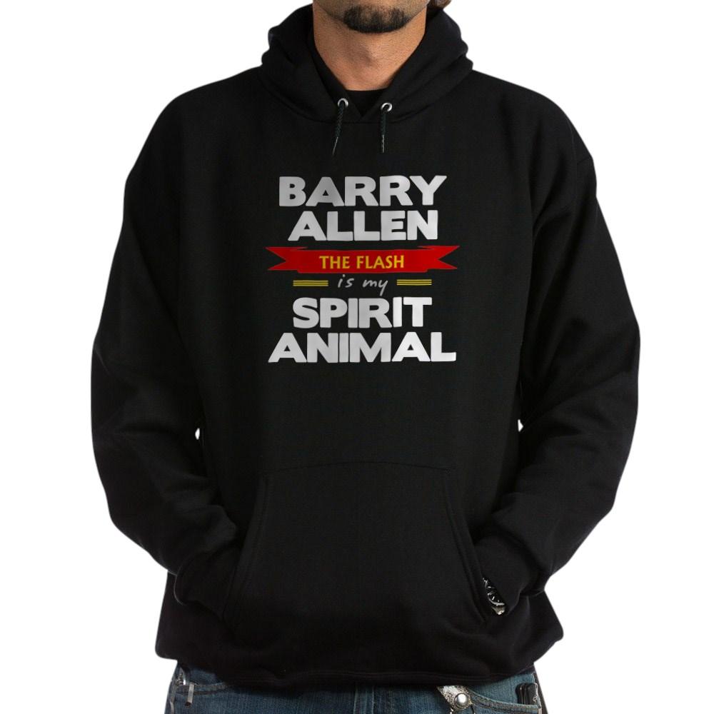 Barry Allen is my Spirit Animal Dark Hoodie