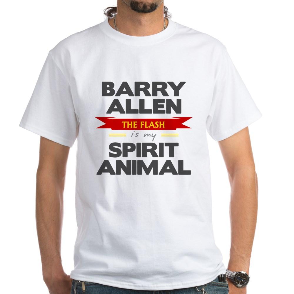 Barry Allen is my Spirit Animal White T-Shirt