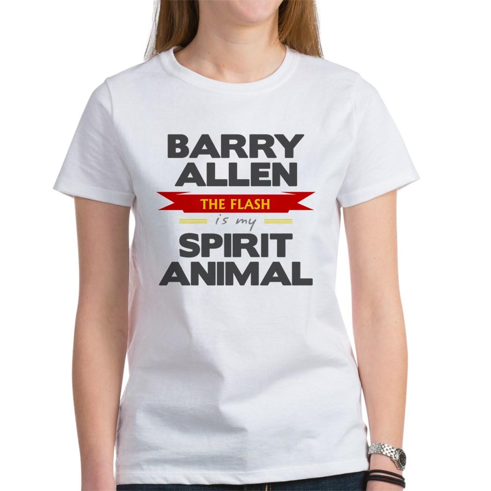Barry Allen is my Spirit Animal Women's T-Shirt