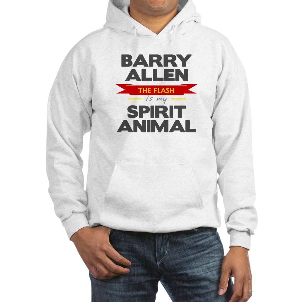 Barry Allen is my Spirit Animal Hooded Sweatshirt