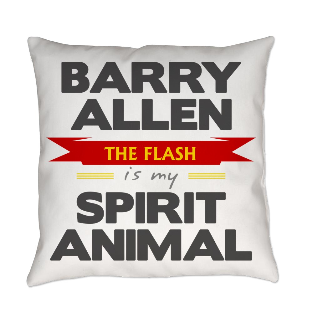 Barry Allen is my Spirit Animal Everyday Pillow