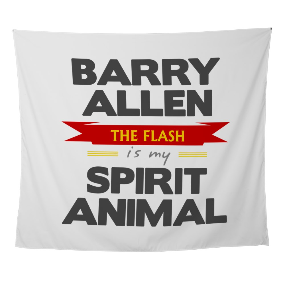 Barry Allen is my Spirit Animal Wall Tapestry