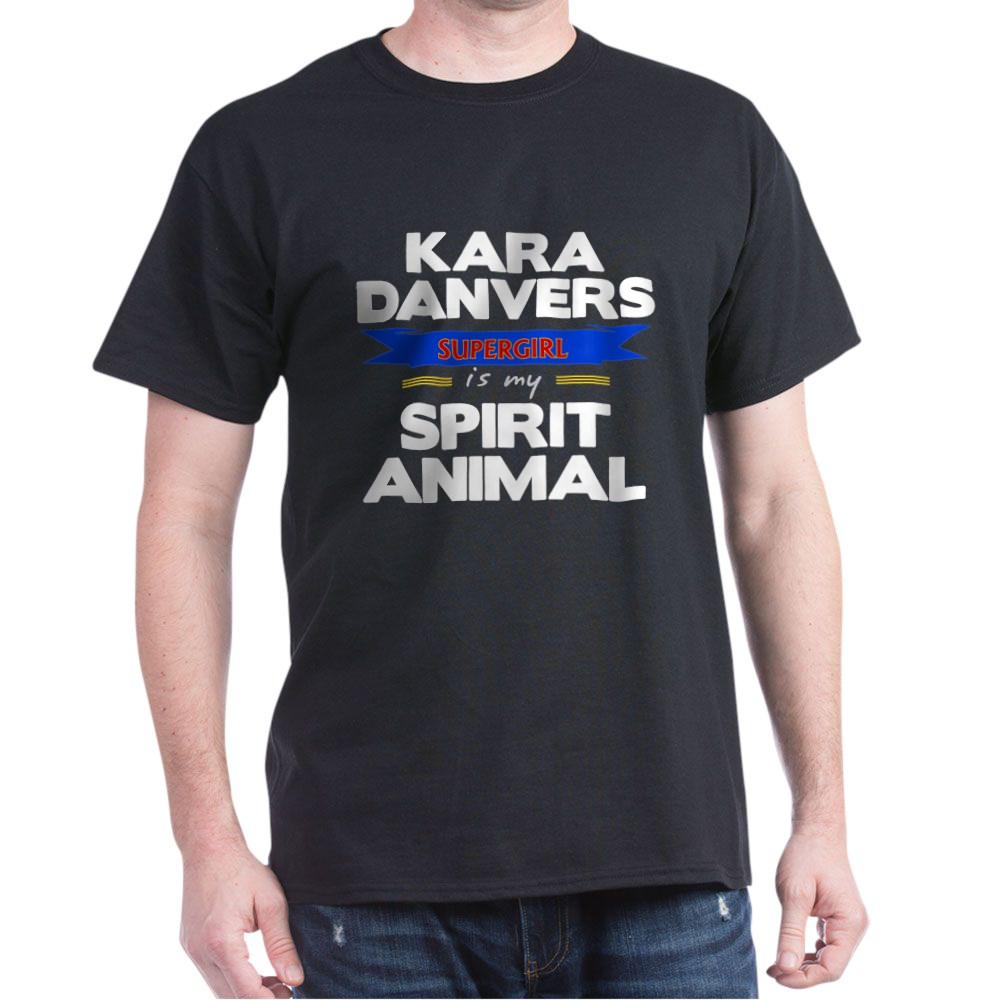 Kara Danvers is my Spirti Animal Dark T-Shirt
