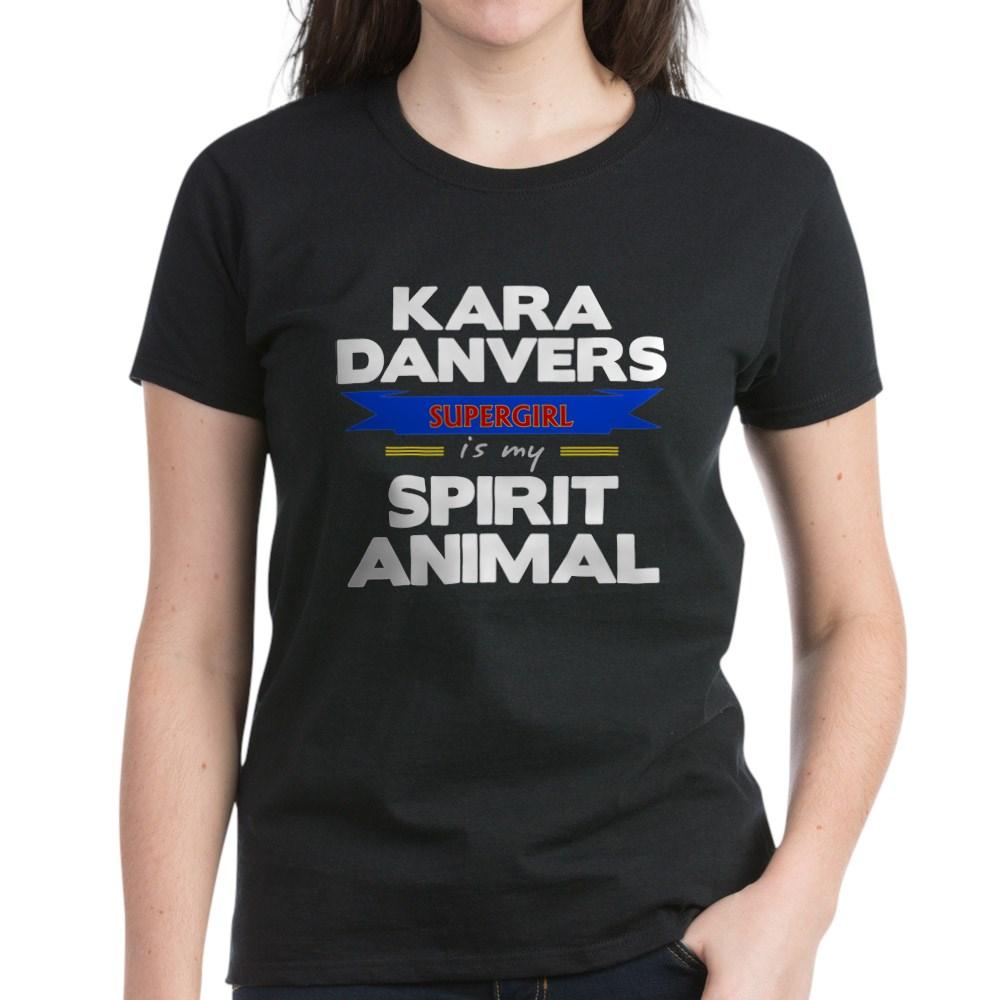 Kara Danvers is my Spirti Animal Women's Dark T-Shirt
