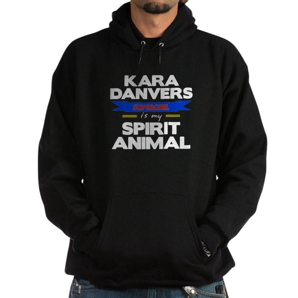 Kara Danvers is my Spirti Animal Dark Hoodie