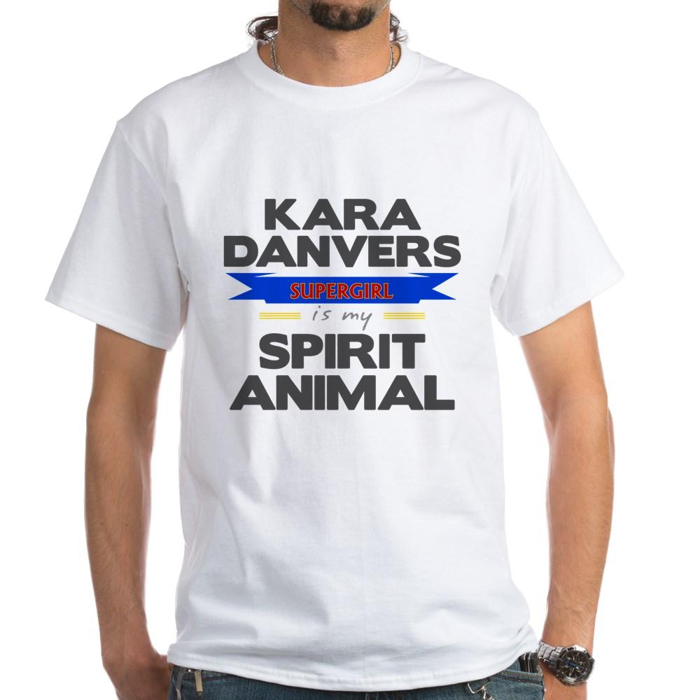 Kara Danvers is my Spirti Animal White T-Shirt