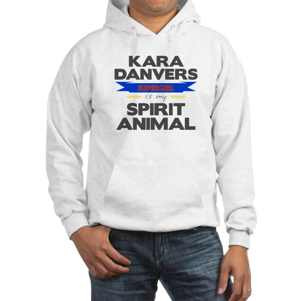 Kara Danvers is my Spirti Animal Hooded Sweatshirt
