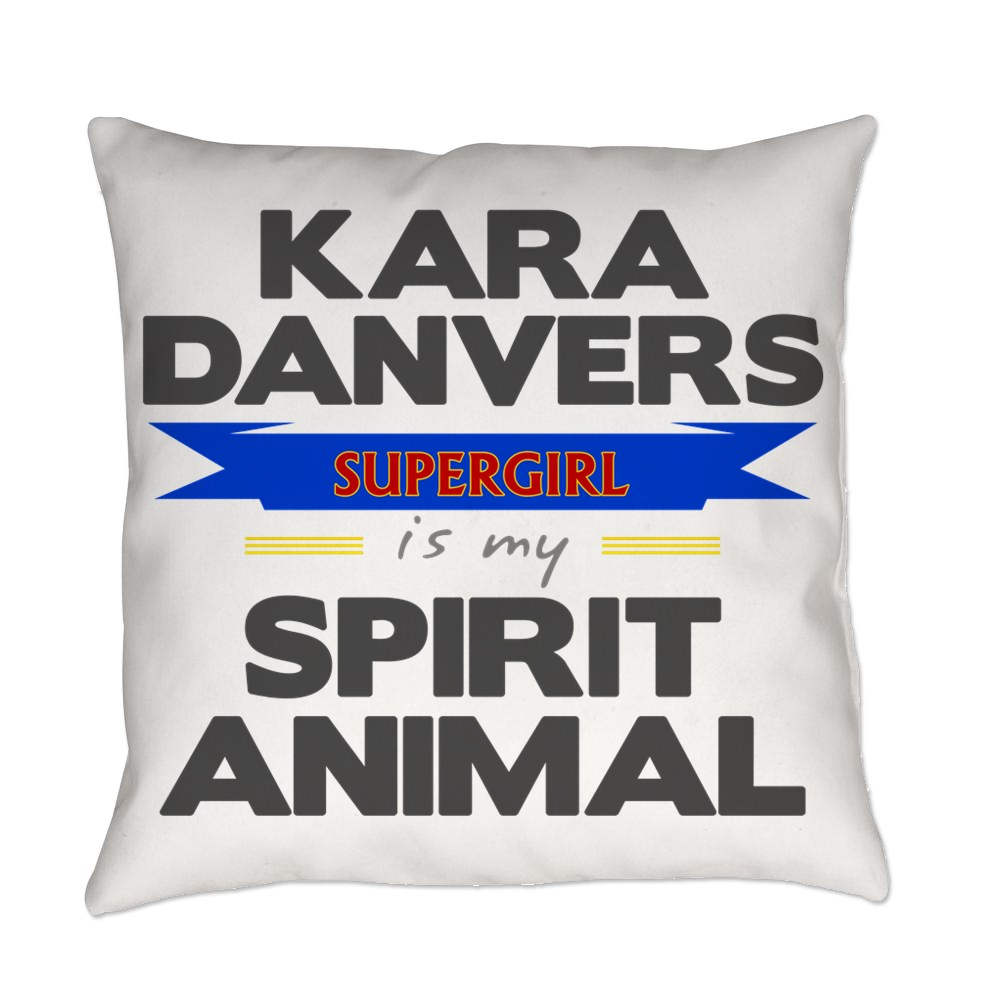 Kara Danvers is my Spirti Animal Everyday Pillow