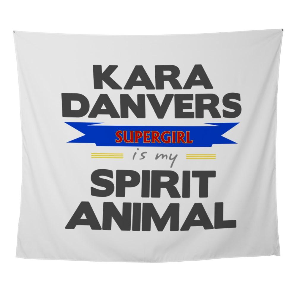 Kara Danvers is my Spirti Animal Wall Tapestry