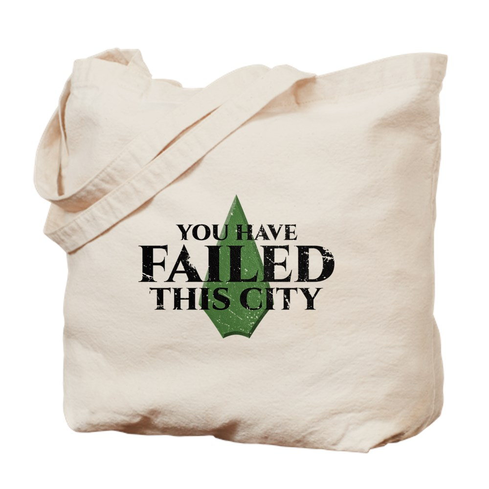 You Have Failed This City - Arrow Tote Bag