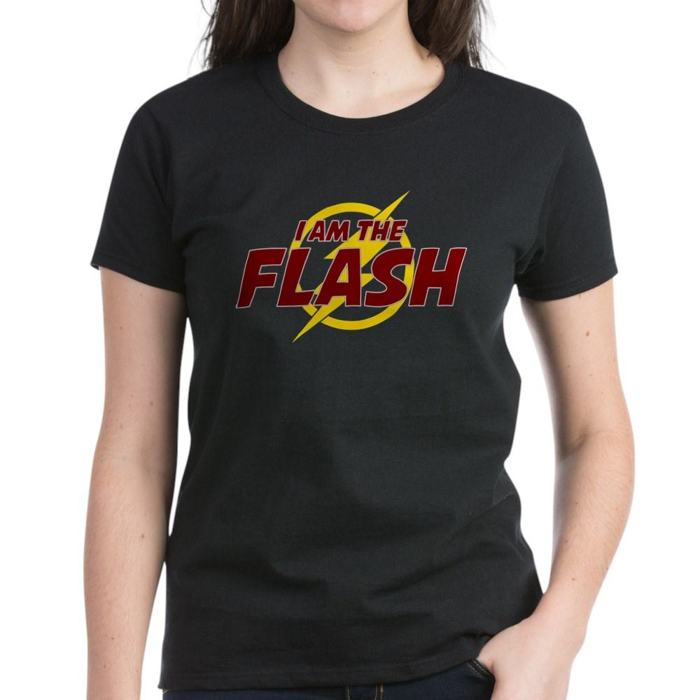 I Am The Flash Women's Dark T-Shirt
