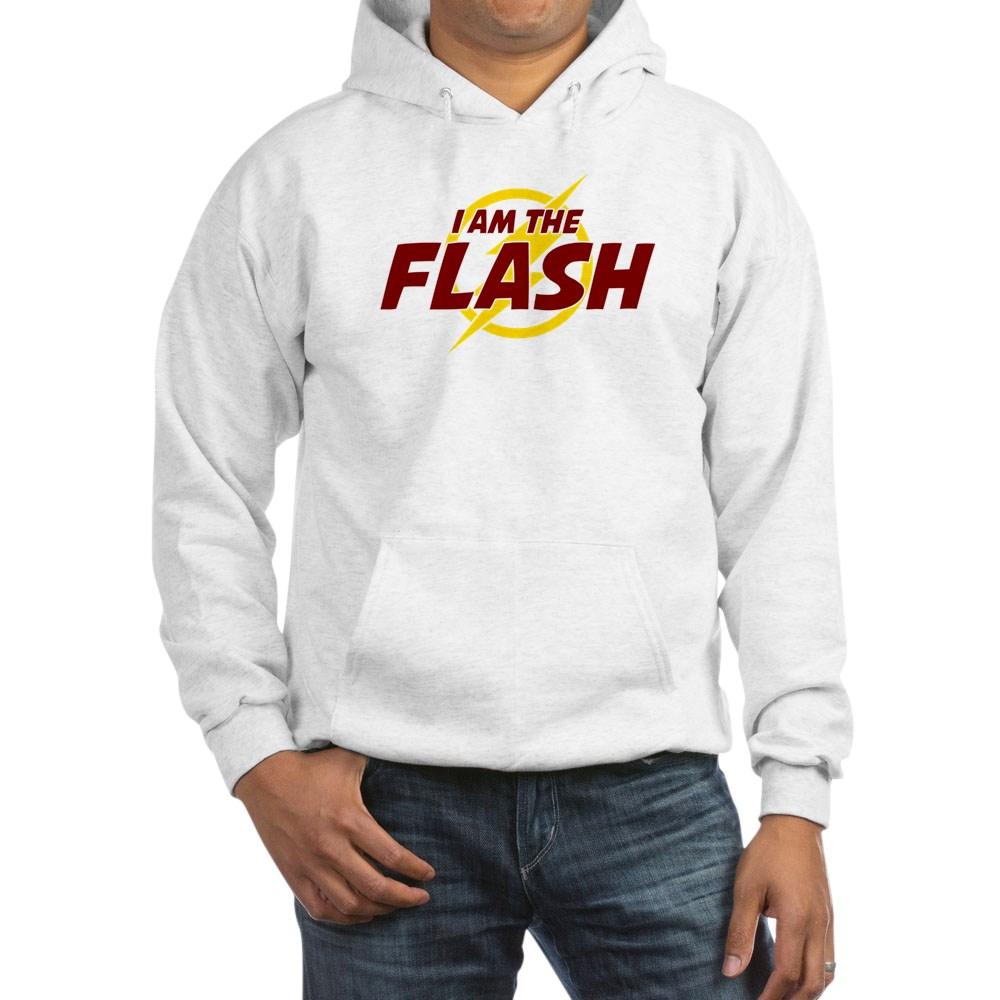 I Am The Flash Hooded Sweatshirt
