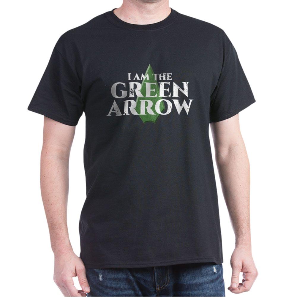 i am green arrow dk Dark T-Shirt