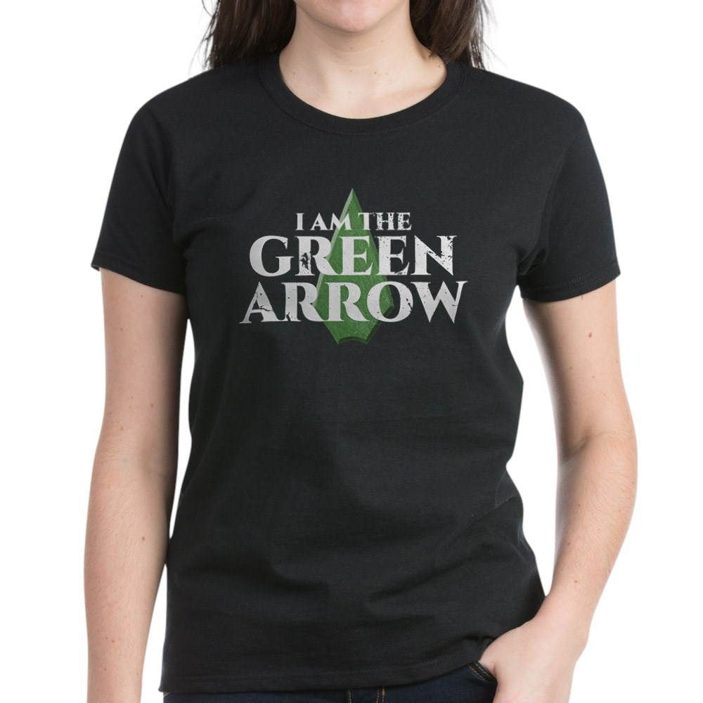 i am green arrow dk Women's Dark T-Shirt