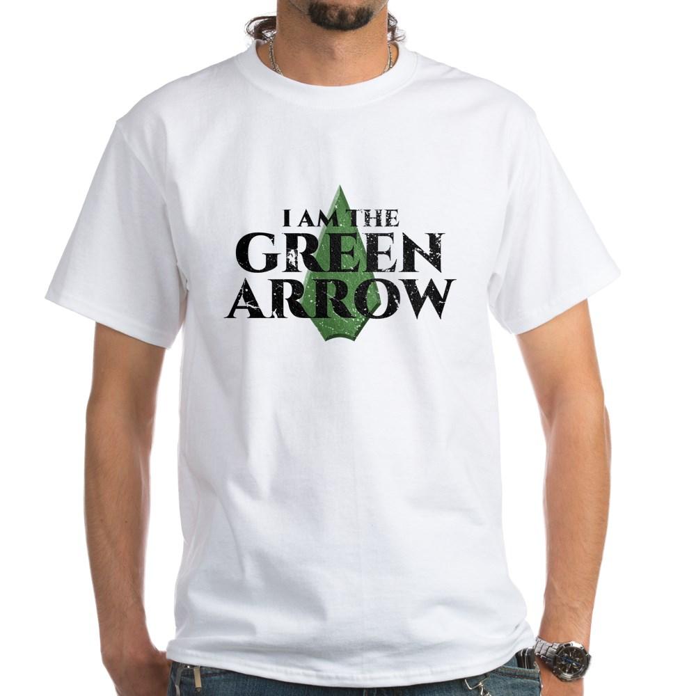 i am green arrow dk White T-Shirt