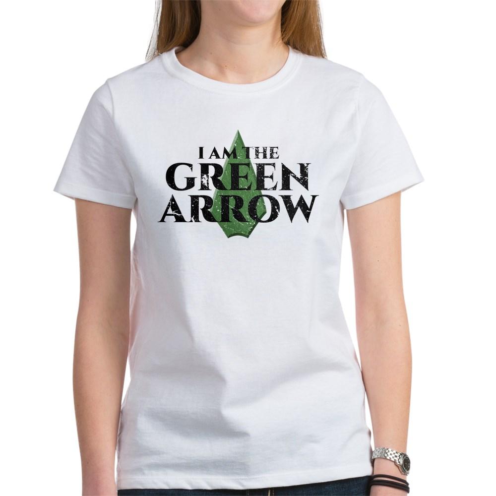 i am green arrow dk Women's T-Shirt