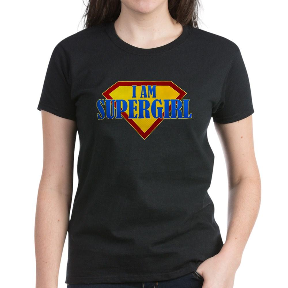 I Am Supergirl Women's Dark T-Shirt