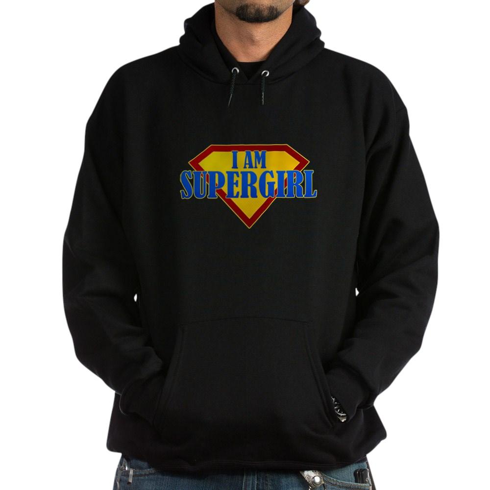 I Am Supergirl Dark Hoodie