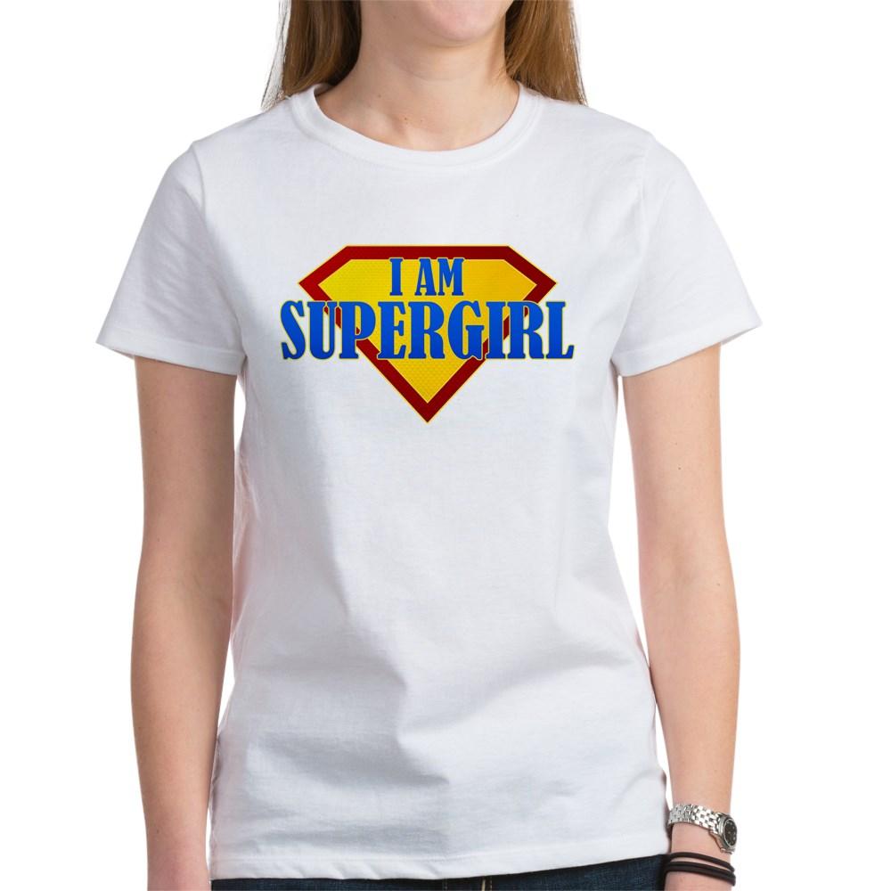 I Am Supergirl Women's T-Shirt