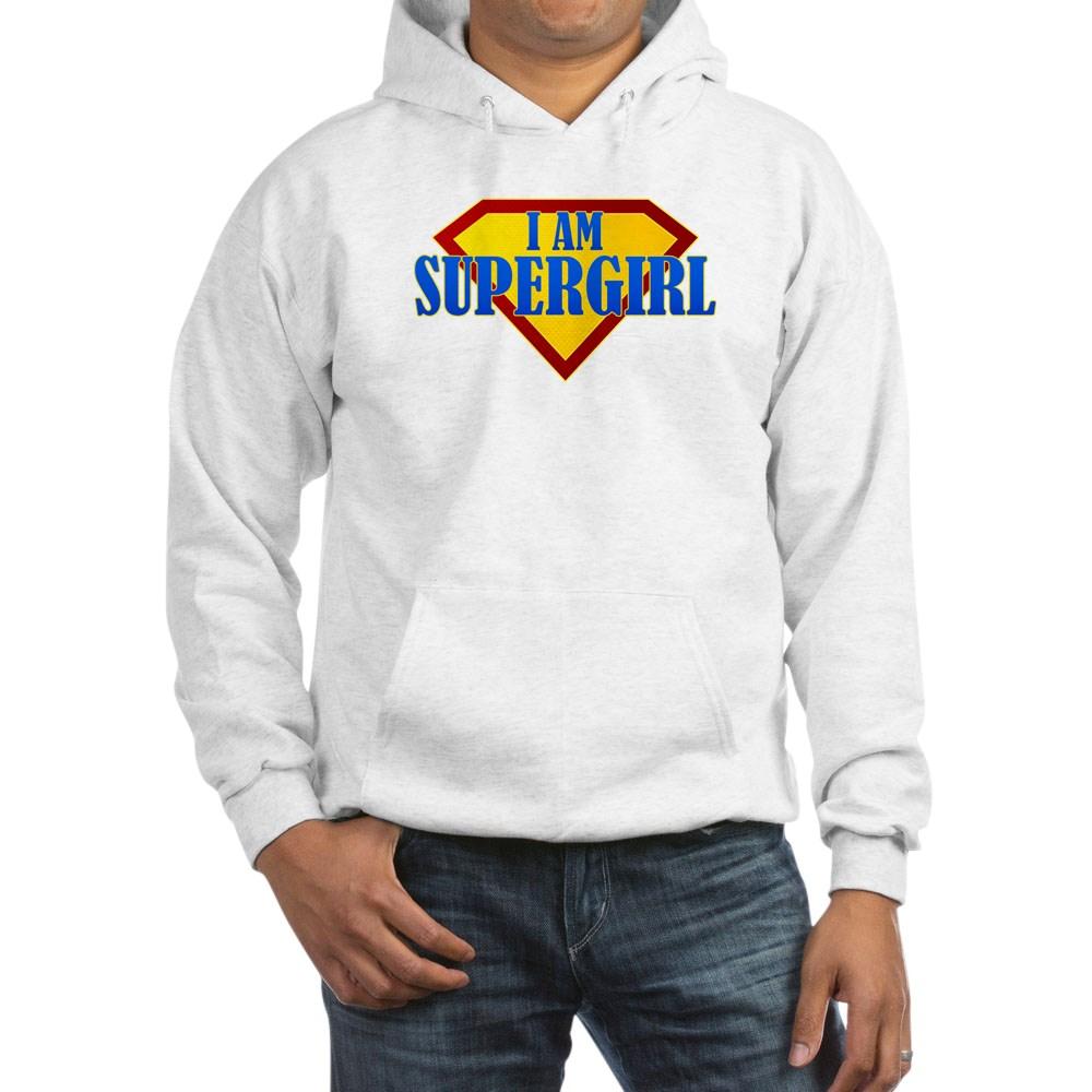 I Am Supergirl Hooded Sweatshirt