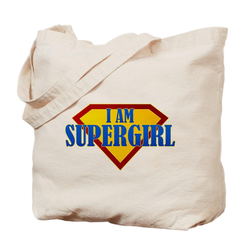 I Am Supergirl Tote Bag