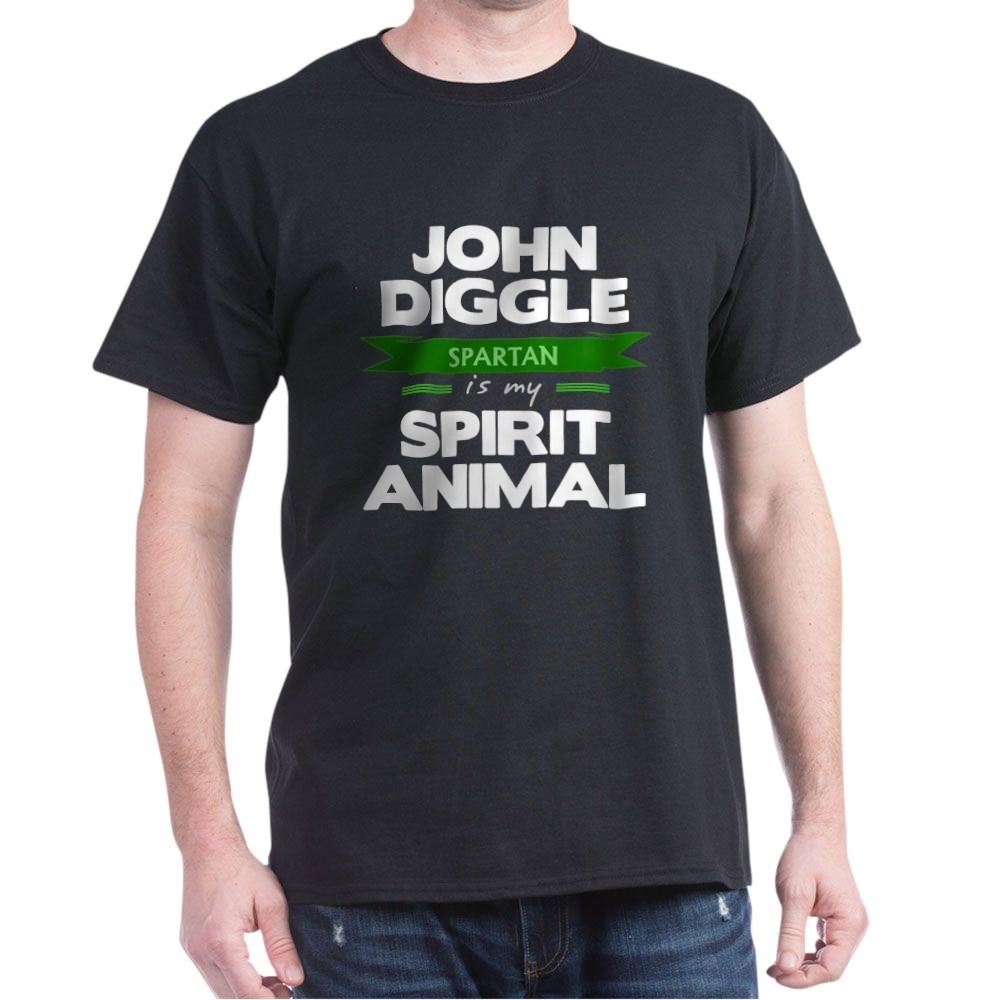 John Diggle is my Spirit Animal Dark T-Shirt