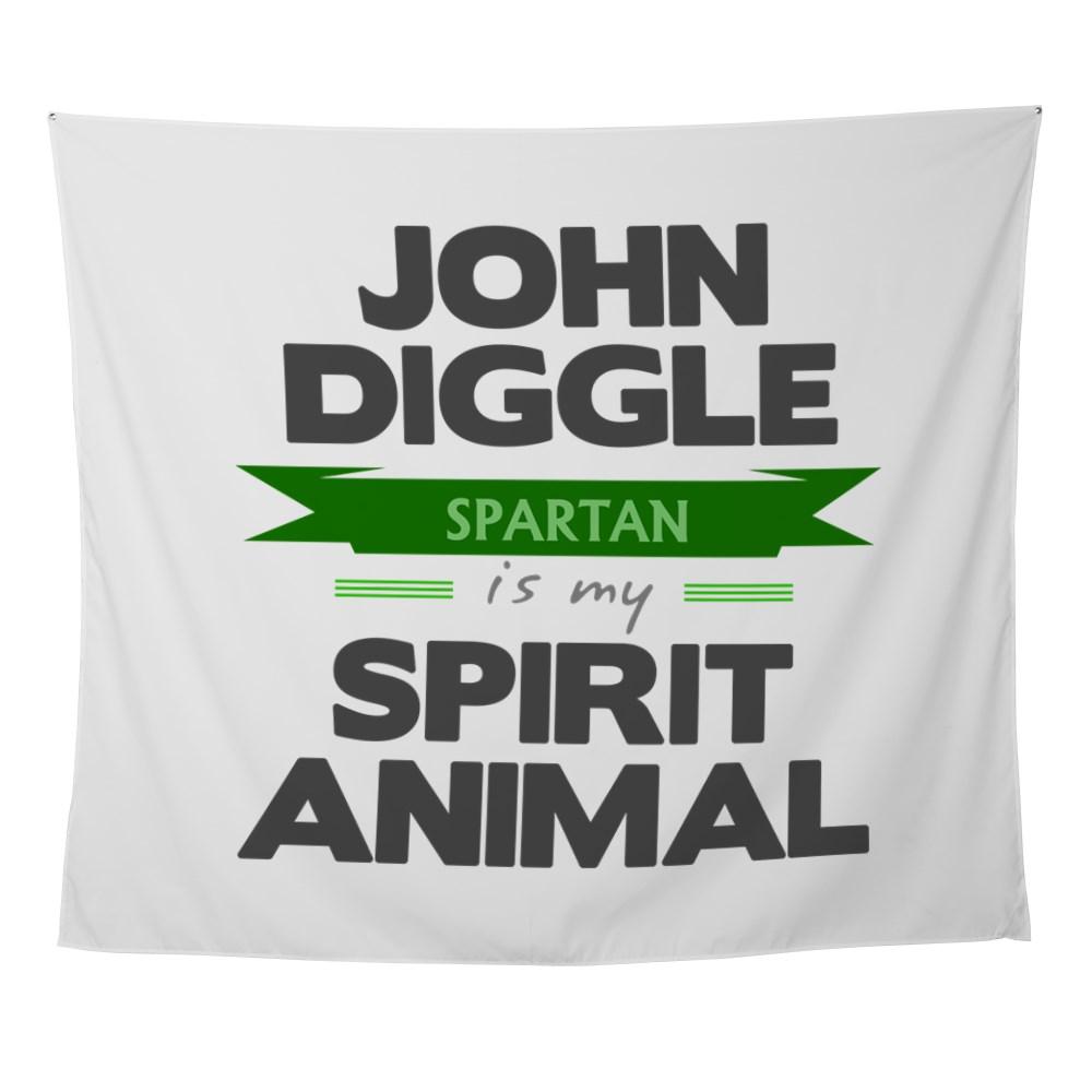 John Diggle is my Spirit Animal Wall Tapestry