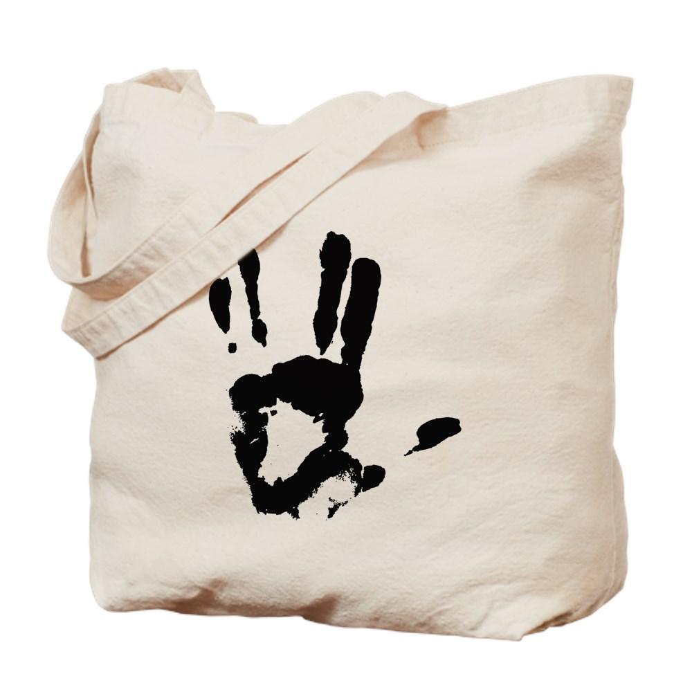 Vulcan Hand Sign Tote Bag