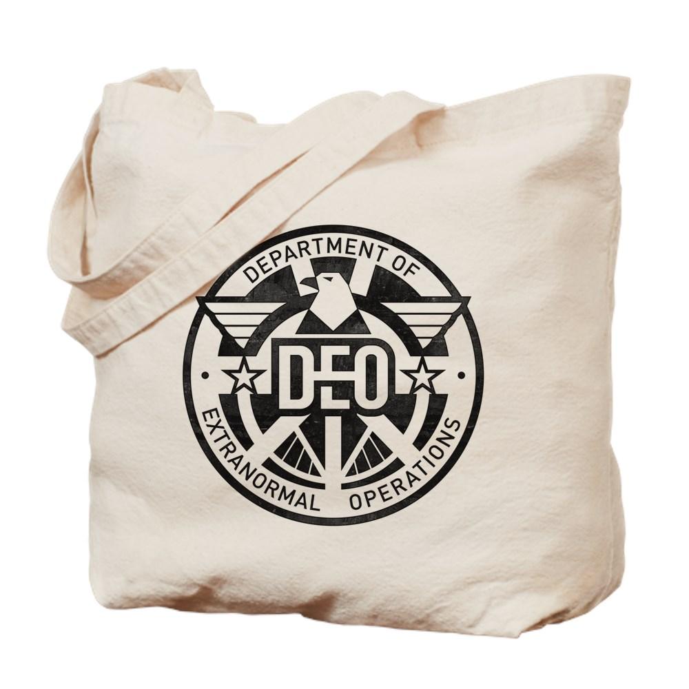 Distressed DEO Logo Tote Bag