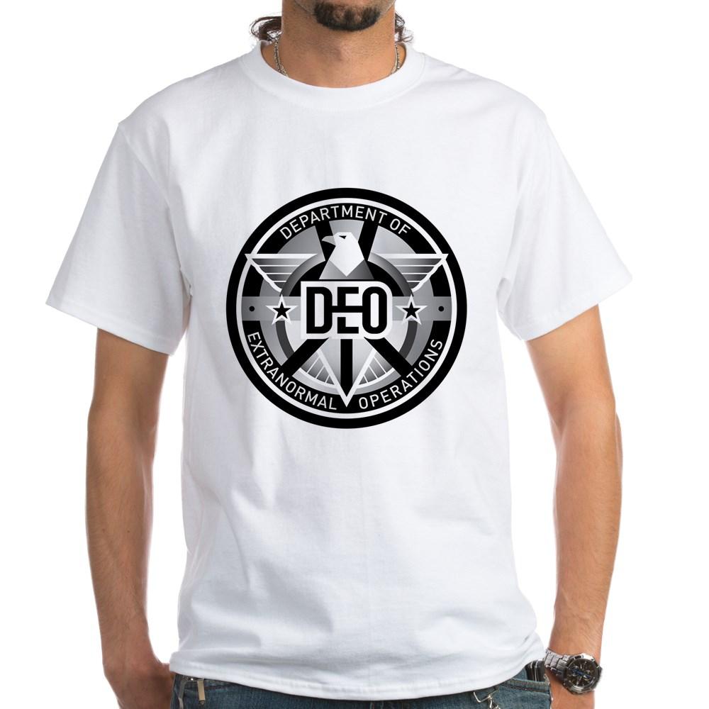 DEO Logo White T-Shirt