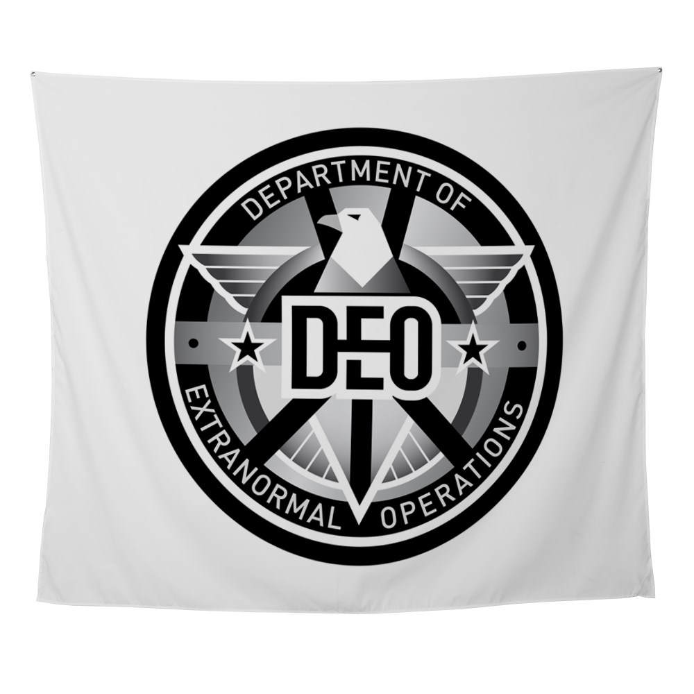 DEO Logo Wall Tapestry