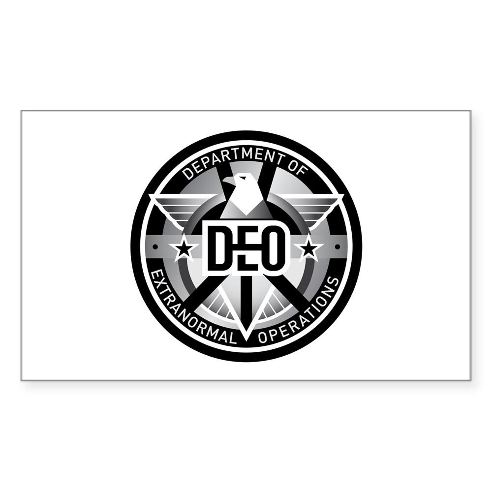 DEO Logo Rectangle Sticker