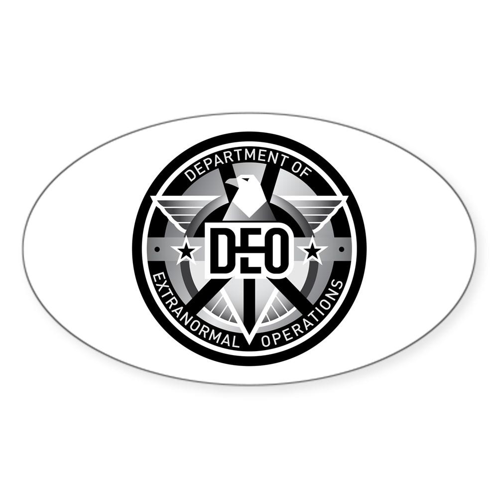 DEO Logo Oval Sticker